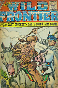 Wild Frontier #4 Charlton Comic Silver Age 1956 VG+ Western