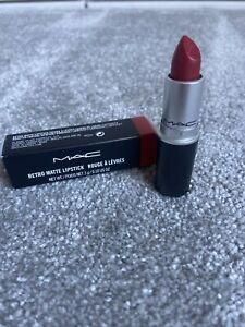 Retro Matte Mac Lipstick Ruby Woo Full Size