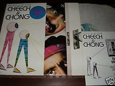 Cheech & Chong - Get Out Of My Room LP nm promo w/ stkr