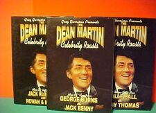 3 DVD Dean Martin Roast Lucille Ball George Burns Jack Benny  Rowan & Martin