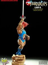 SIDESHOW Pop Culture LION-O EXCLUSIVE~ STATUE LTM 375 THUNDERCATS MUMM-RA Figure
