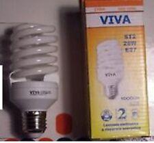 LAMPADA ELETTRONICA BASSO CONSUMO 26W E 27 1700L 2700K LUCE CALDA  11070217 VIVA
