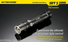 Nitecore SRT5 Detective LED Flashlight with CREE XM-L2 T6 LED - 750 Lumens
