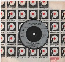 "Philip Lynott - Yellow Pearl 7"" Single 1980"