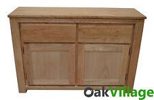 Oak Large Sideboard / Storage Cupboard / Solid Wood Buffet Table Bloomsbury