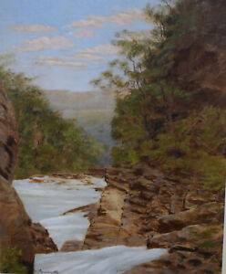 WILLIAM HENRY RAWORTH (1821-1904) ~ VINTAGE ORIGINAL WATERCOLOUR PAINTING