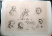 Luciano Pavarotti hand signed Lithograph Authentic Limited Edition 567/850