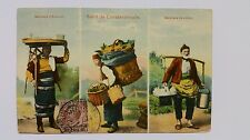 1913 Post Card of Marchands  Brussels Constantinopoli Post Marks Istambul