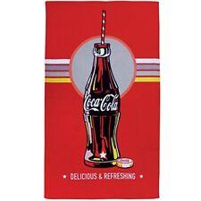 Cti 043422 Coca-Cola Bottle - toalla de playa 70 X 120 cm color rojo