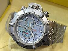 4568 Invicta Subaqua Noma III Swiss Chron Mother-of-Pearl Dial SS Bracelet Watch