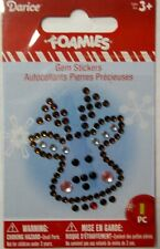 Reindeer  Christmas Gem Sticker  Darice