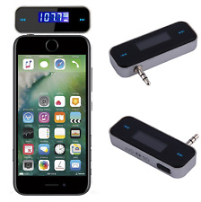 Smartphone 3.5mm Wireless FM Transmitter MP3 Music to Car Speaker Audio Adapter
