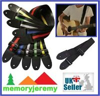 Adjustable Guitar Strap Belt for Acoustic Bass  Electric Guitar