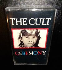 THE CULT, CEREMONY, 1991 CASSETTE (PLAY TESTED) *LIKE NEW*