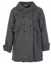 Knee Length Patternless Formal Coats & Jackets for Women
