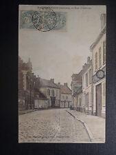 CPA harbonnières Rue D'amiens