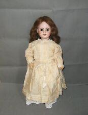 2880* poupée sfbj 60 ancienne tête porcelaine corps bois composition articulé