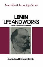 Lenin : Life and Works by Hermann Weber; Martin McCauley; Gerda Weber