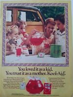 1981 Kool-Aid loved it as a kid trust it as a mom vintage drink mix ad