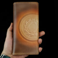 [NEW] Handmade Long Leather Wallet