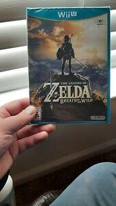The Legend of Zelda: Breath of the Wild (Wii U, 2017) SEALED!!! Read description