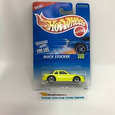 Buick Stocker #472 Yellow * 1996 Hot Wheels * WB2