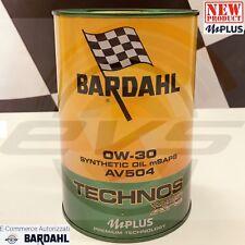 Bardahl Technos xfs C3 Av504 0w30 Olio Motore Lubrificanti Auto 1 lt