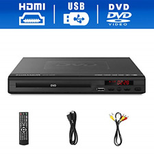 DVD Player for TV Support Full with HDMI Cable Remote Control USB Input Region