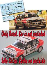 Decal 1:43 Luis Monzon - LANCIA DELTA - Rally Catalunya 1991