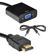 HDMI to VGA Adapter Digital to Analog Audio Converter Cable for PC Laptop TV
