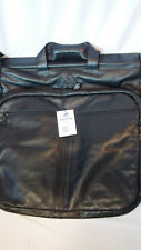 Adidas Garment Bag Black Leather Men's Womens Rare Bookbag Laptop Bag Travel NWT