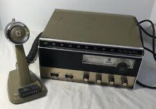 Vintage Johnson Messenger CB 124-M With Microphone