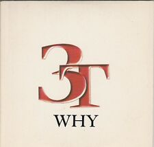 1 track cd single PROMO 3T WHY radio edit Duet with Michael Jackson Cardbard sl