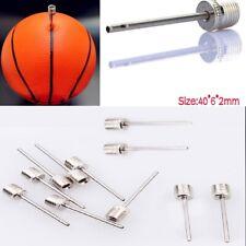 10Pcs Sport Inflating Needle Pin Nozzle Football Soccer Basketball Air Pump