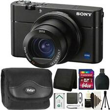 Sony Cyber-shot DSC-RX100 VA Digital Camera Black + Top Accessory Kit