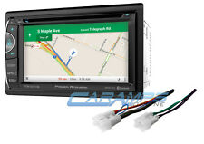 "NEW 6.2"" POWER ACOUSTIK CAR STEREO RADIO GPS NAVIGATION BLUETOOTH W/ INSTALL KIT"