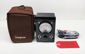 Simpson 8455 Loop tester W/Leads No Battery