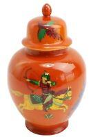 Vintage Seymour Mann Ginger Jar Urn Persian Hunter circa 1642 Handcrafted China