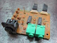 Kenwood KX-95W Cassette Deck REPAIR PART - System Control Jack PCB X29 B/5