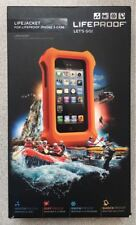 NEW Original LifeProof LifeJacket Floating Case for iPhone 5 / 5s / SE - Orange@