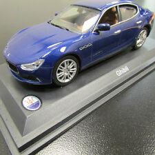 Maserati Ghibli 1/43 Diecast Model Blu Emozione#920005476
