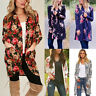 Fashion Women Boho Loose Shawl Kimono Cardigan Coat Tops Cover Up Blouse Jacket