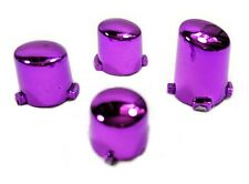 Xbox One Controller Chrome Purple Replacement A B X Y Button Set Mod Kit
