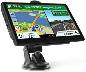 "7"" HD Screen Car Truck GPS Navigation Navigator Sat Navi Map 8GB 128MB MP3 MP4"