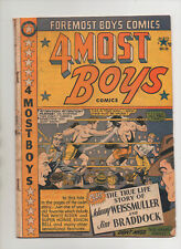 4 Most Boys #38 - Boxing Cover - (Grade 4.0) 1950