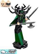 LEGO Hela Minifig from 76084 Ultimate Battle for Asgard Marvel Super Heroes NEW
