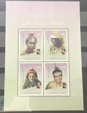 Papoea-Nieuw-Guinea / Papua New Guinea - MNH - Sheet PNG Faces 2018