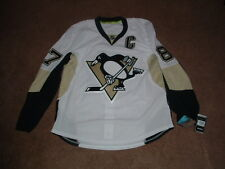 SIDNEY CROSBY #87 PITTSBURGH PENGUINS AUTHENTIC AWAY HOCKEY JERSEY sz 54 NWT
