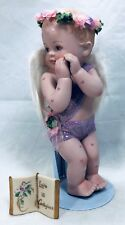 """Messenger Angel Love is Contagious 1996 Hamilton Collections 7"""" 17.8cm  TA-1044"""