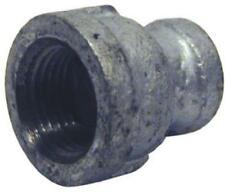 "10Pk 3/4"" x1/4"", Galvanized Reducing Coupling."